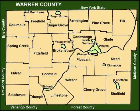 Warren County Ohio township Map Maps – secretmuseum