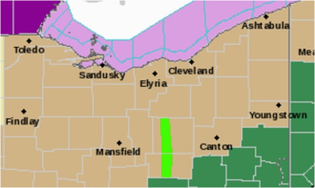 cleveland oh weather forecast radar news