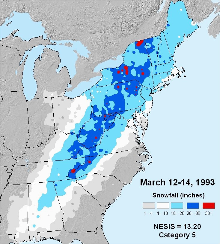 superstorm of 1993 storm of the century
