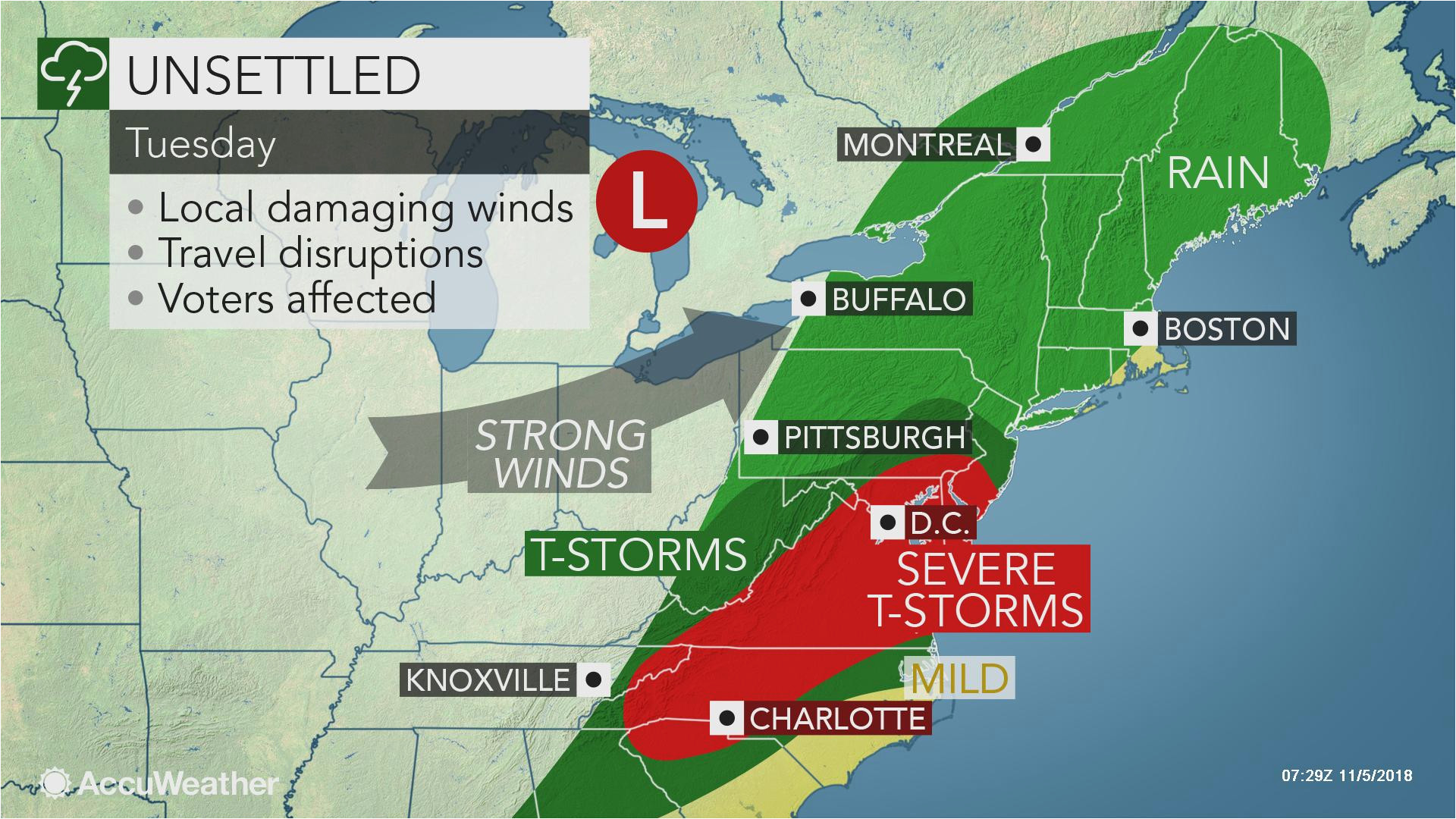Weather Radar Map Live Ohio Sunday S Calm Day In northeastern Us to ...
