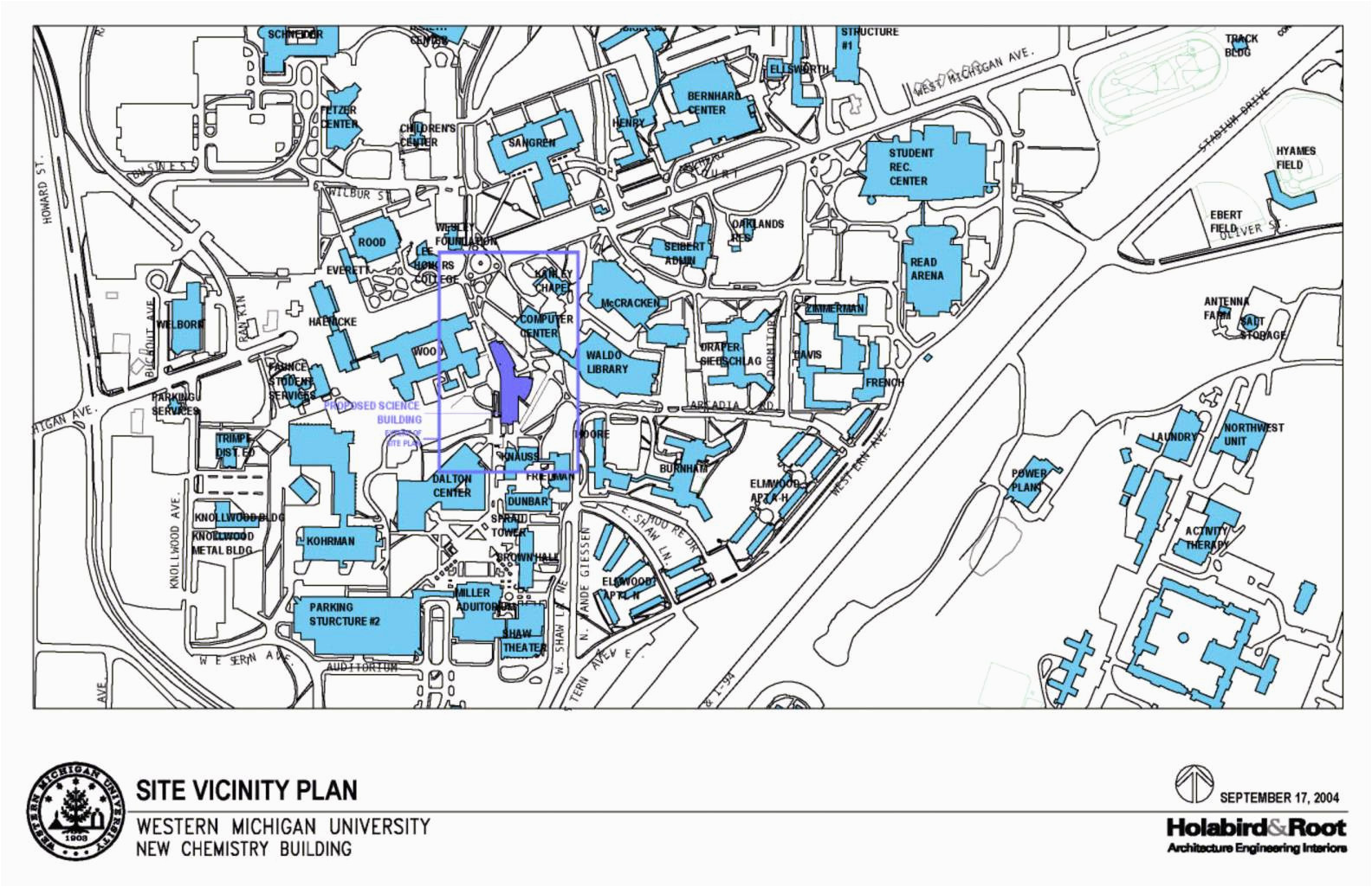 Western Michigan University Campus Map Awesome Map Of ...