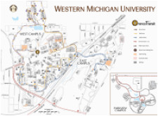 awesome map of western michigan pictures printable map new