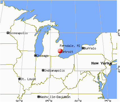 ferndale michigan mi 48220 profile population maps real estate
