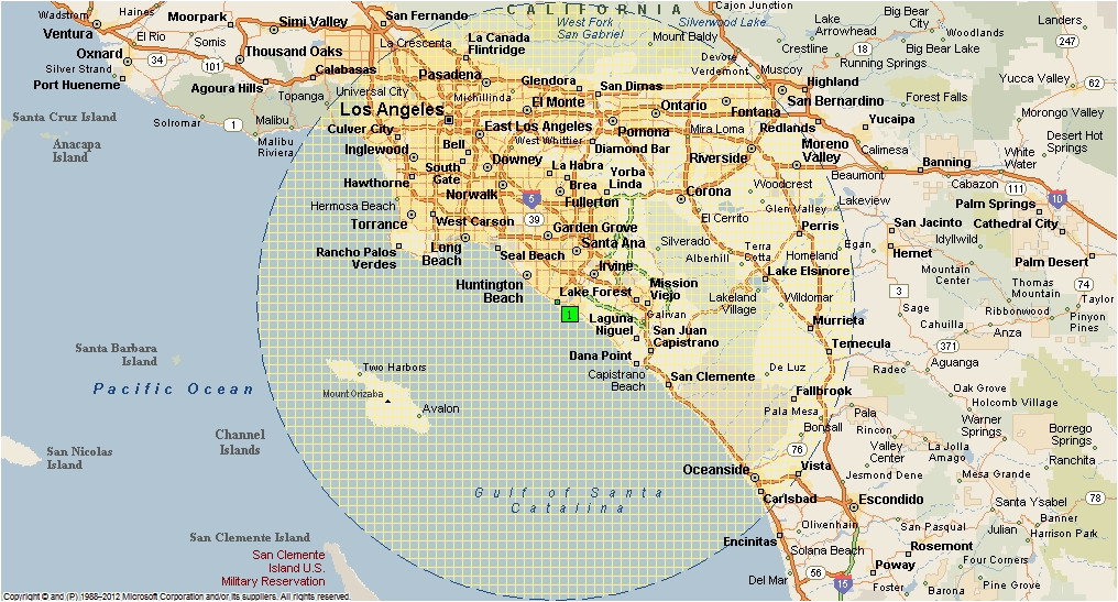 Where Is Newport Beach California On The Map Of