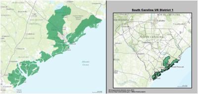 south carolina s 1st congressional district wikipedia