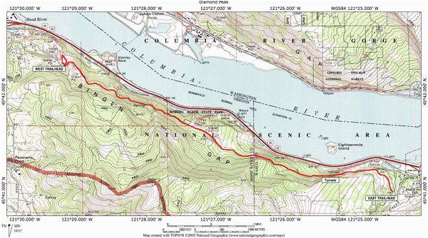 A Map Of the oregon Trail | secretmuseum