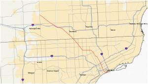 michigan highways map secretmuseum