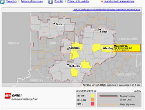 aep ohio power outage map secretmuseum