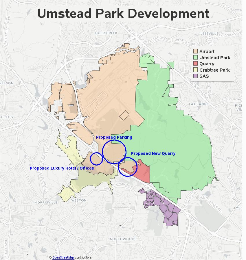 Airports north Carolina Map Rdu Airport Vs Surrounding Parks and Nature Sas Learning Post