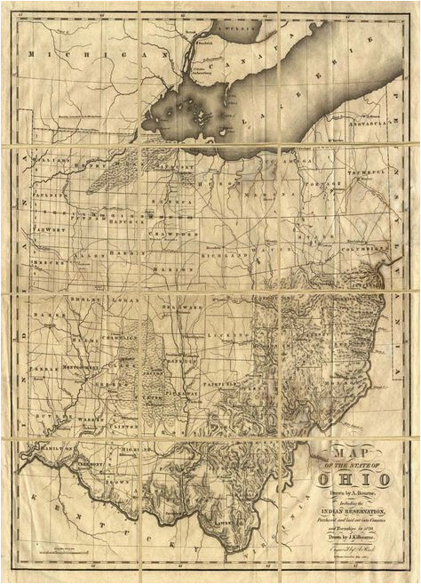 map of ohio with indian reservations adams county history