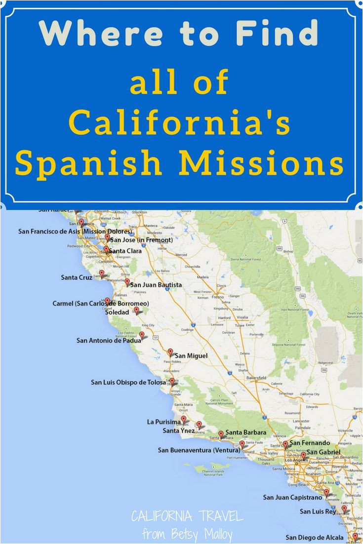 image regarding California Missions Map Printable identify California Mission Map toward Print Upon A Mission Map Of