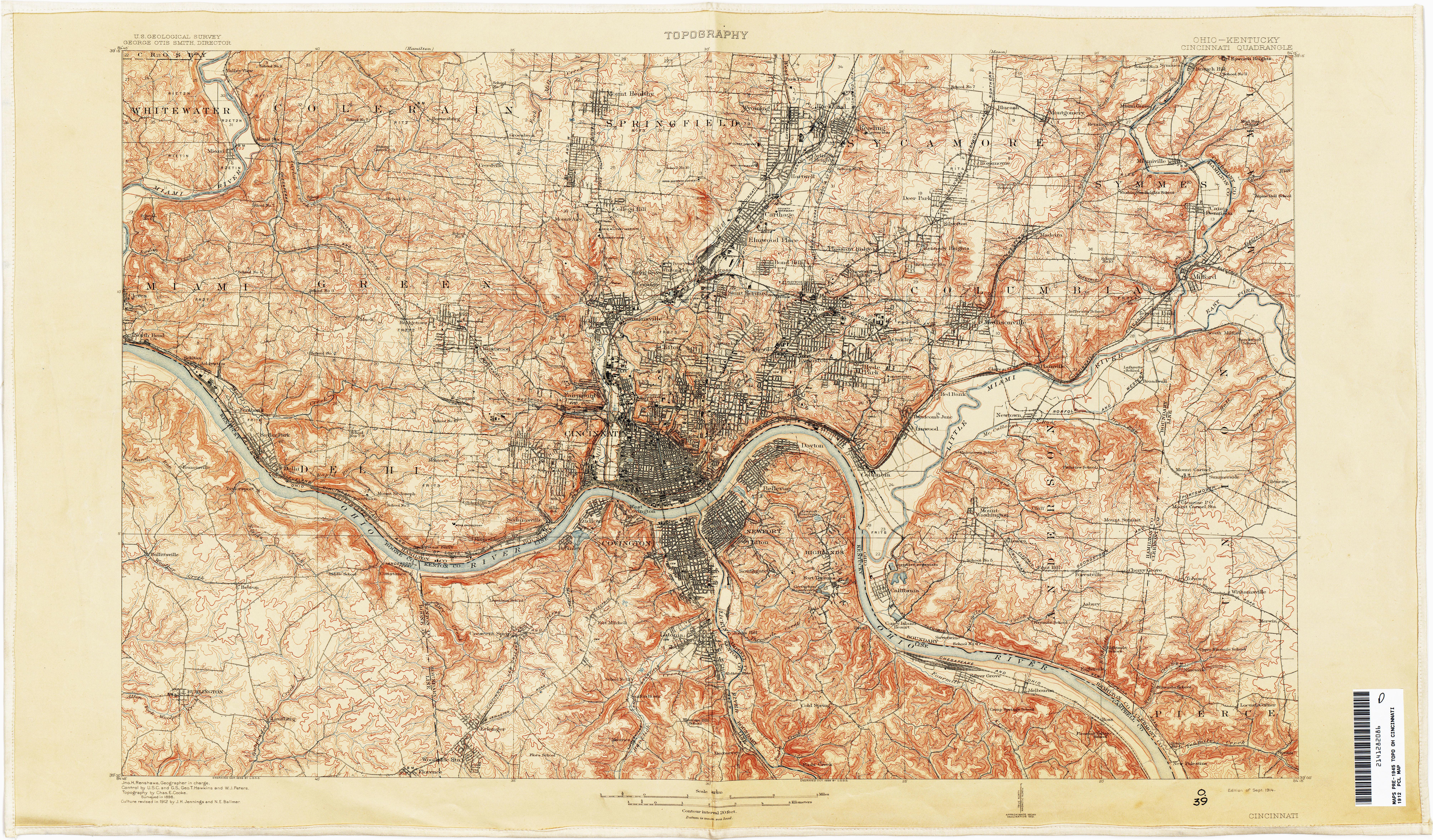 Dayton Ohio Google Maps Ohio Historical topographic Maps Perry ... on