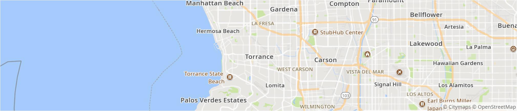 elegant torrance california map bressiemusic