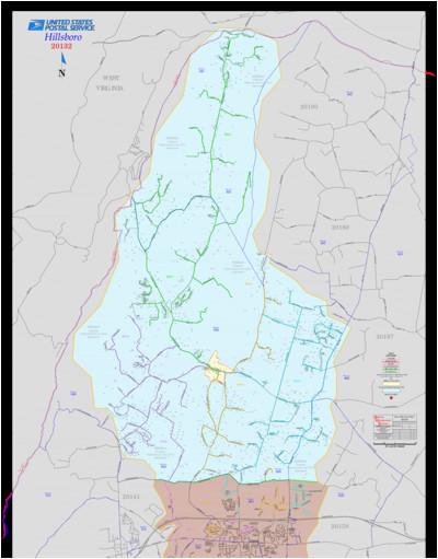Hillsboro oregon Zip Code Map   secretmuseum