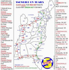 I 95 Map north Carolina 28 Best these are Rv Route Maps ... I Route Map Of Usa on route maps east coast usa, highway map of eastern usa, route of i 95,