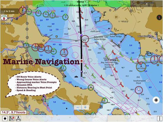 i boating usa nautical marine charts lake maps app price drops