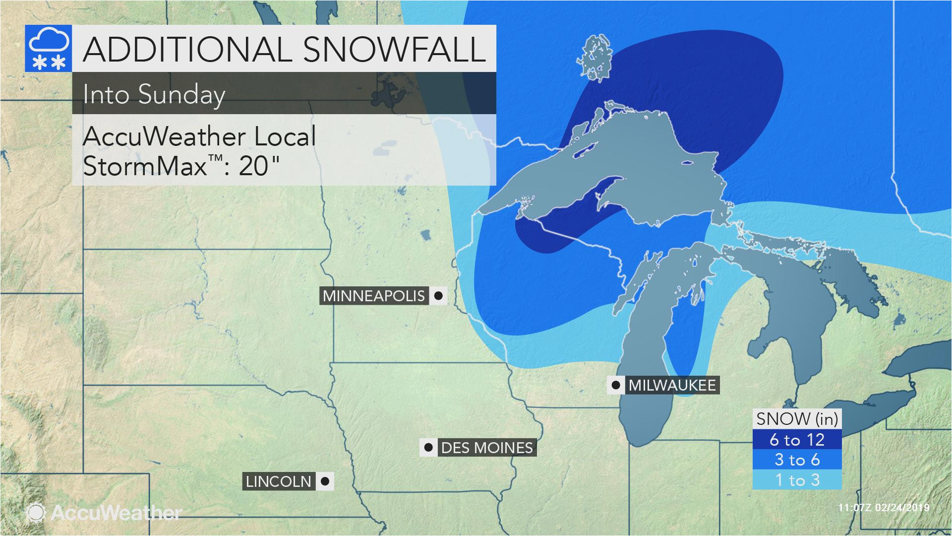 central plains blizzard to spread to upper midwest into sunday