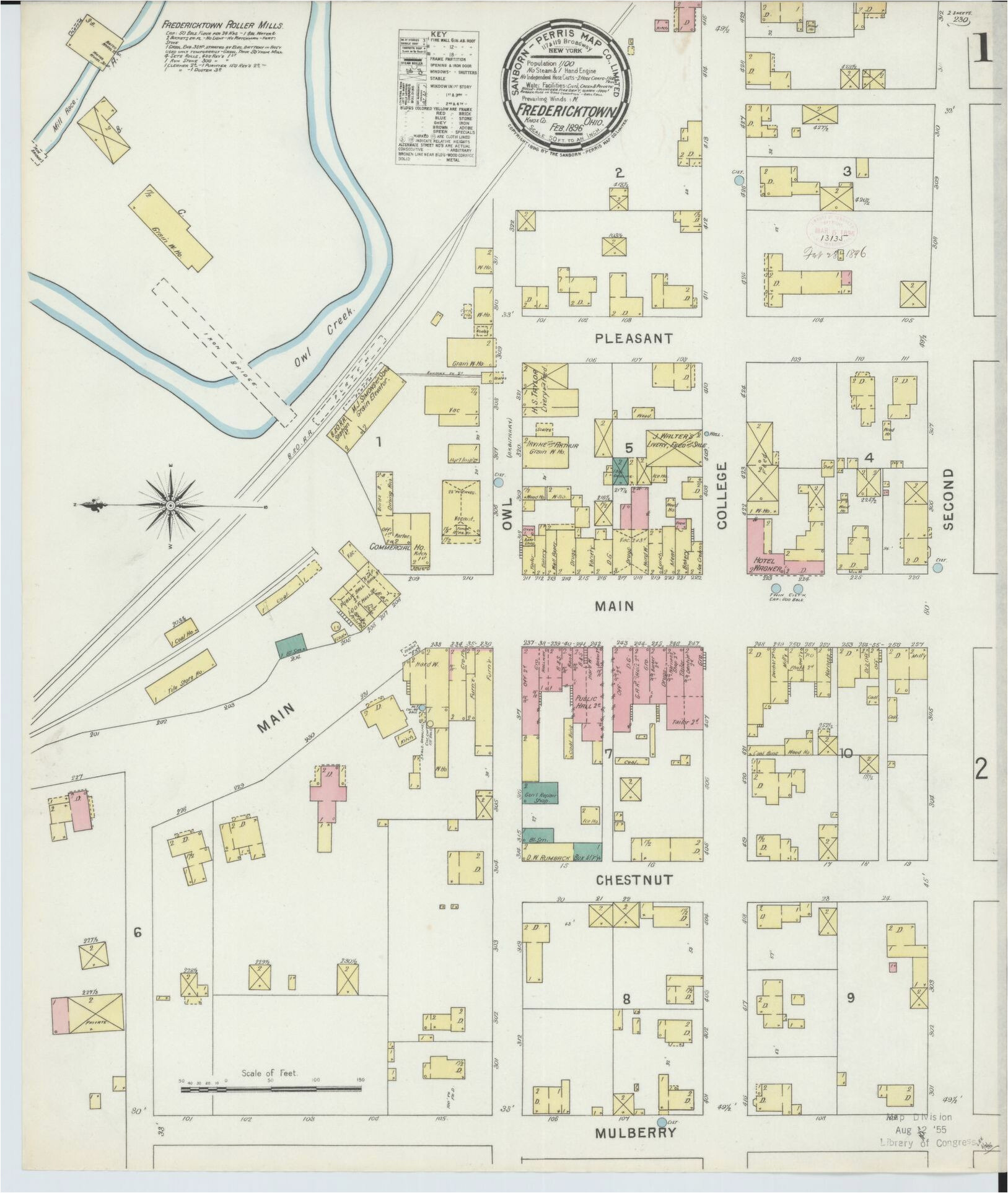 map 1800 1899 ohio library of congress