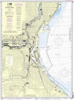 21 best vintage milwaukee maps images in 2019 milwaukee map maps