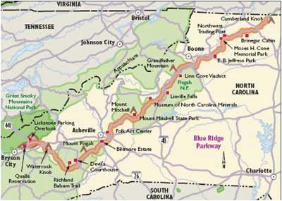 north carolina scenic drives blue ridge parkway asheville here i