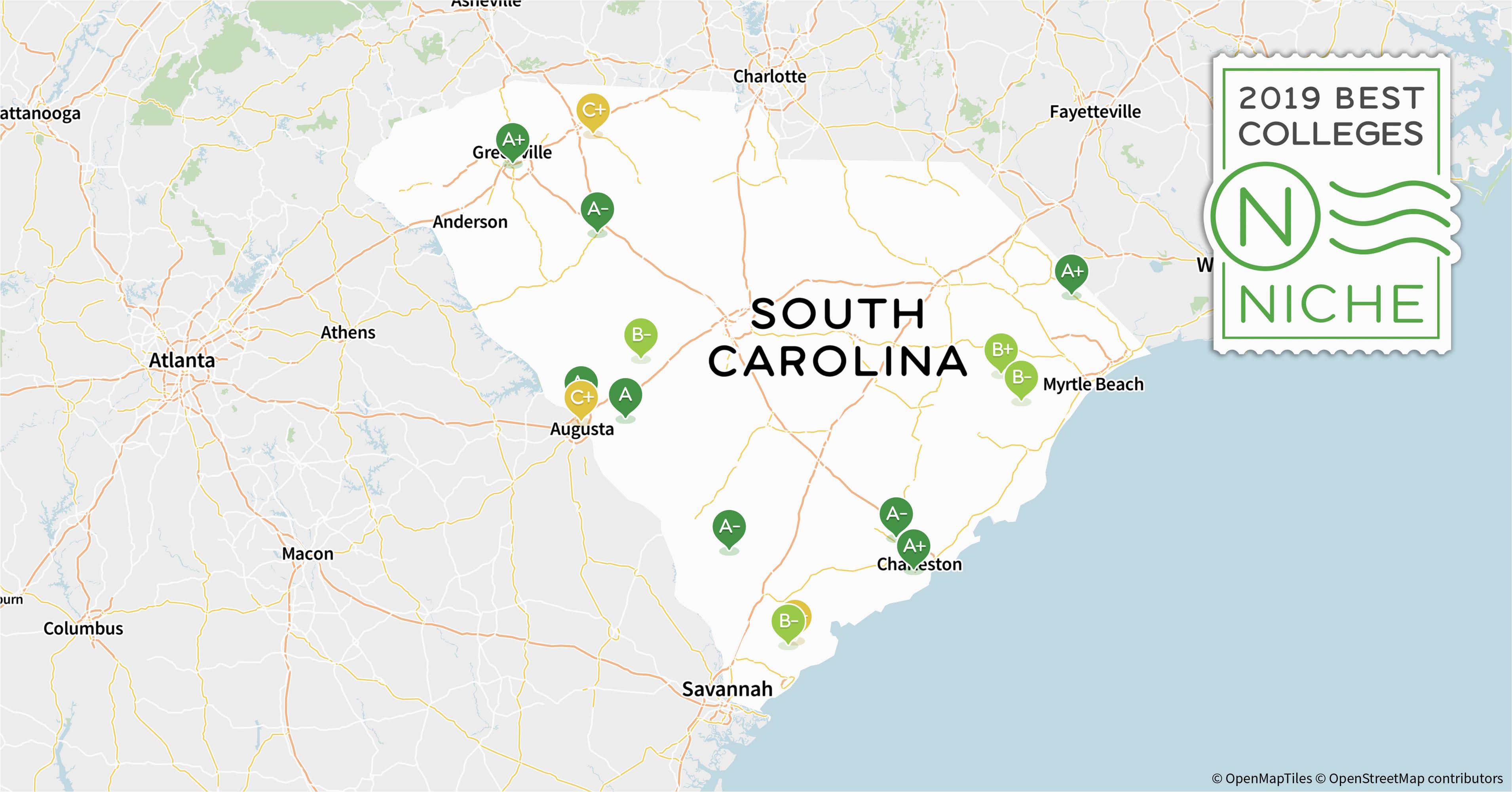 2019 best colleges in south carolina niche