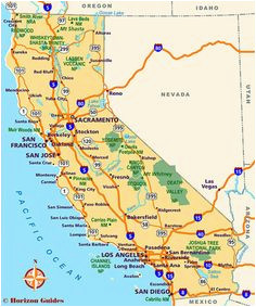 map of major cities of california maps in 2019 california city