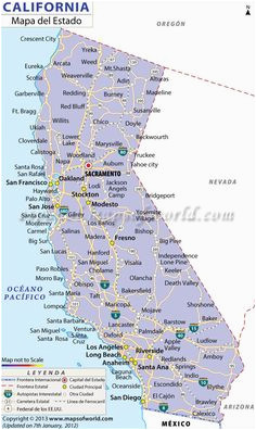 Map Of California Towns And Cities.Map Of Northern California Cities And Towns Map Of Major Cities Of