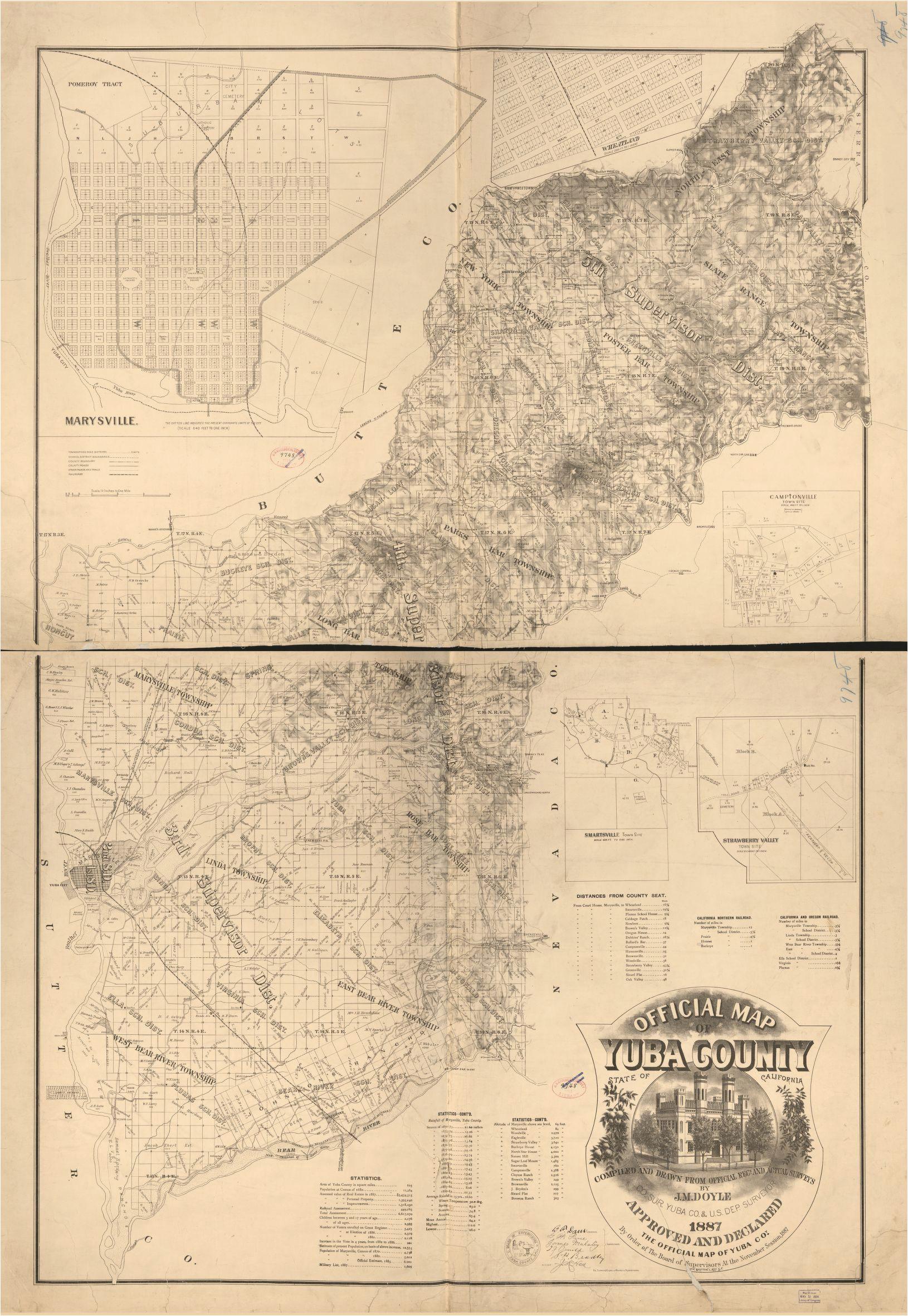 san joaquin valley california map printable map california