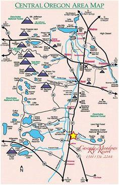 Map Of Sunriver oregon   secretmuseum Map Of Sunriver on