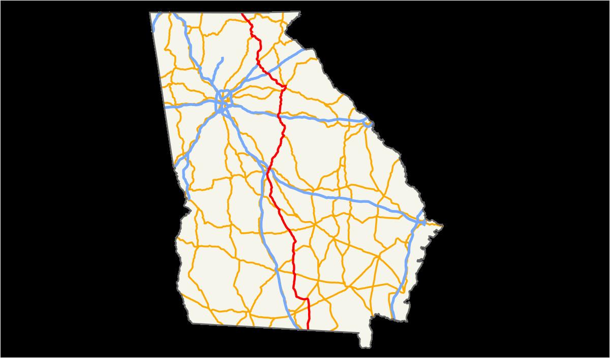 Map Of Georgia Mall.Map Of The Mall Of Georgia U S Route 129 In Georgia Wikipedia