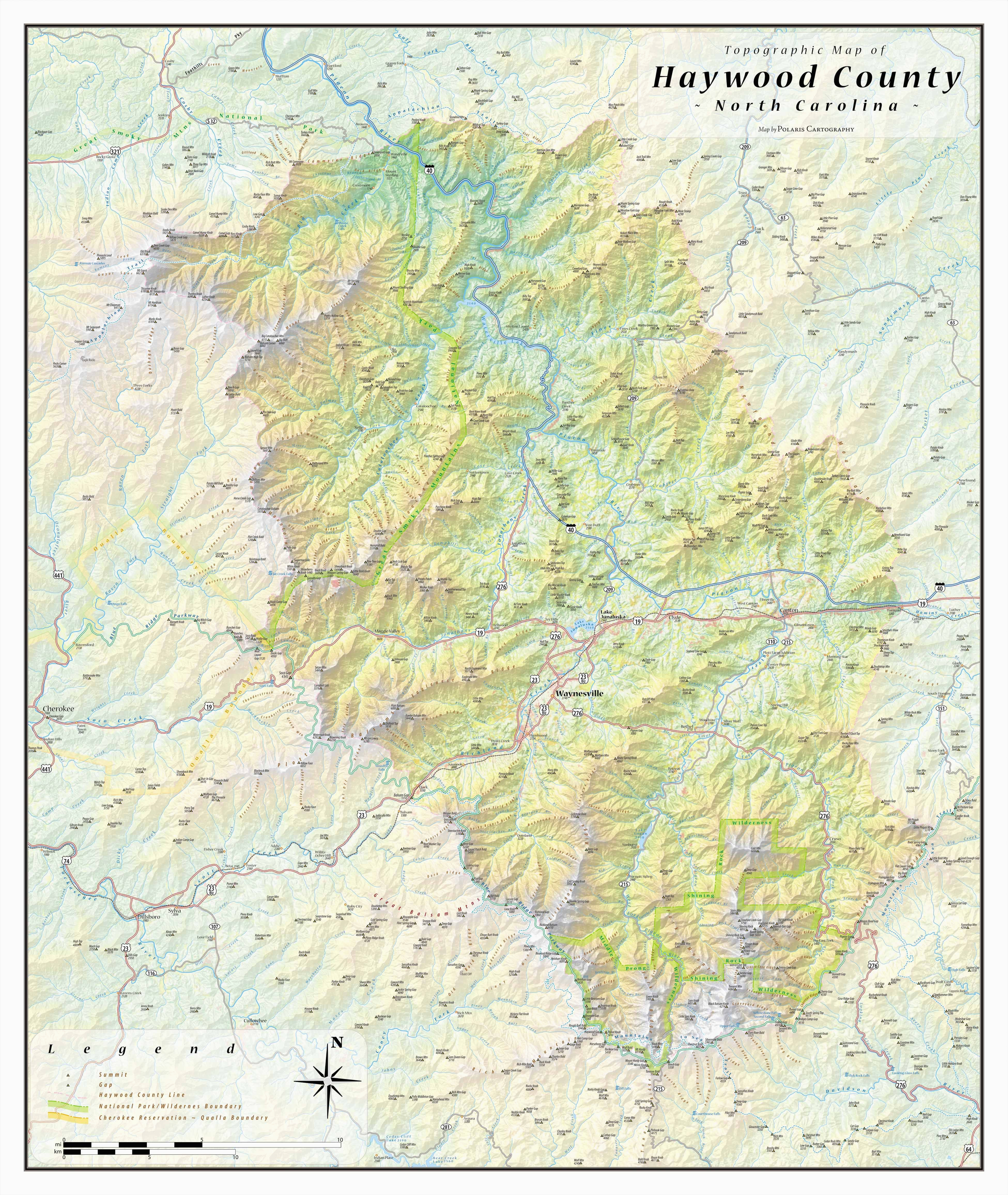 haywood county topographical map haywood north carolina mappery