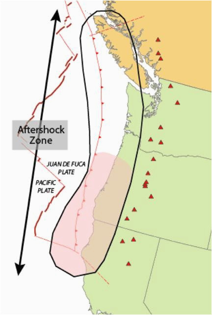 when cascadia subduction zone earthquake hits the coast what will