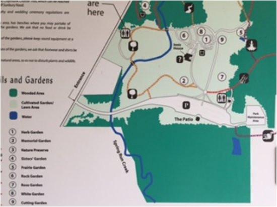 map picture of inniswood metro gardens westerville tripadvisor