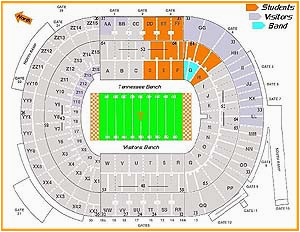 Michigan Stadium Seating Map 29 Forum Seating Chart With