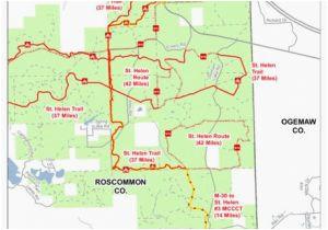 state land maps michigan michigan state land map elegant united