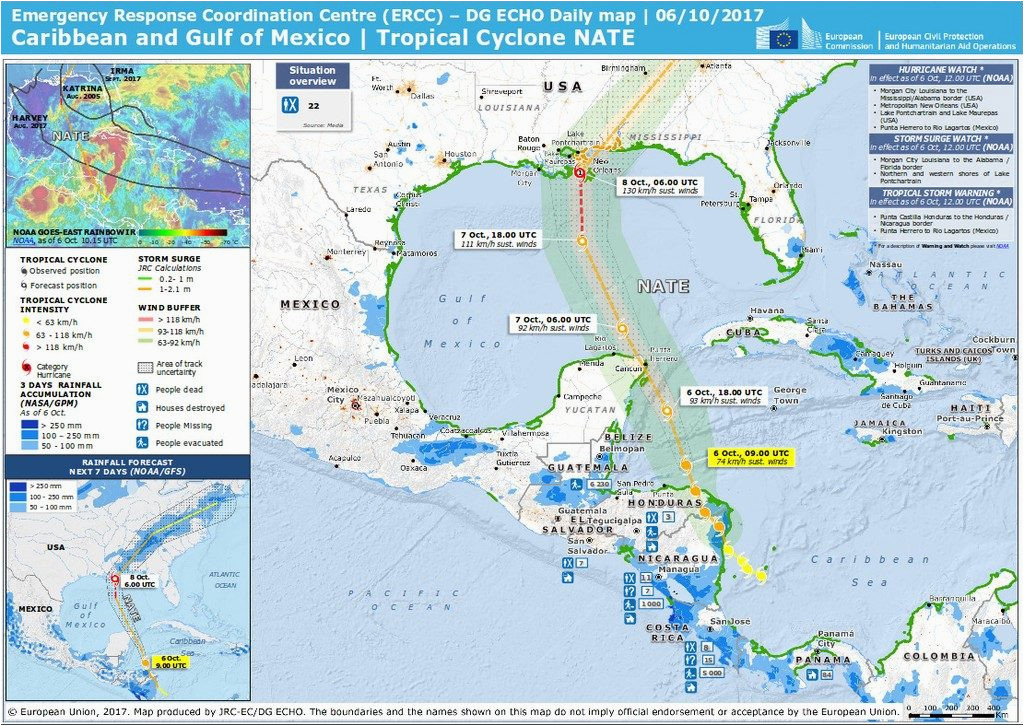 central america storm nate causes deadly floods in costa rica