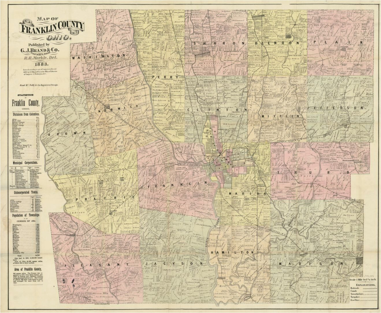 map landowners real property library of congress