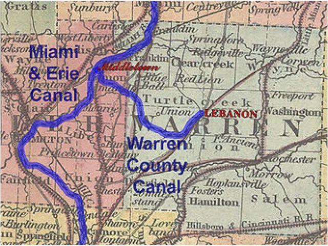 ohio towpath map historic ohio canals revolvy secretmuseum