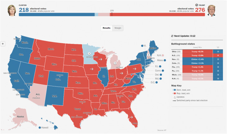 political maps maps of political trends election results