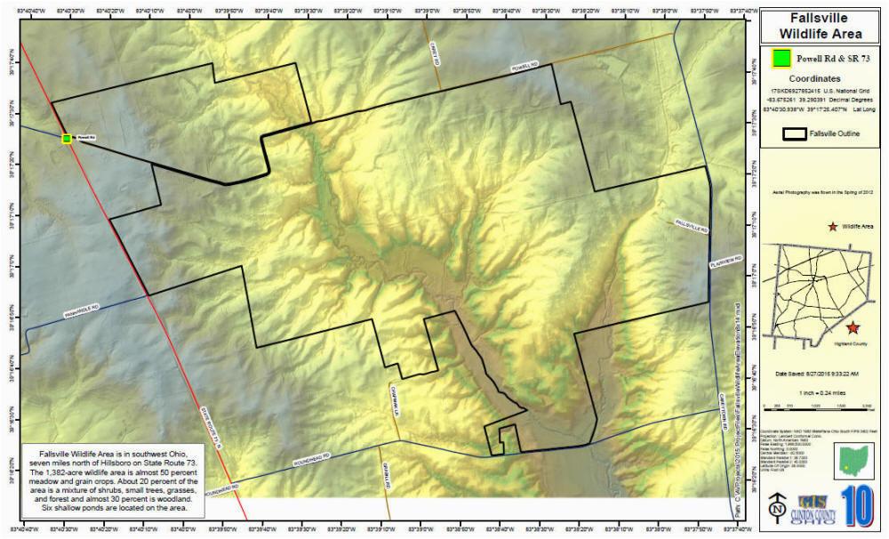 fallsville wildlife areas