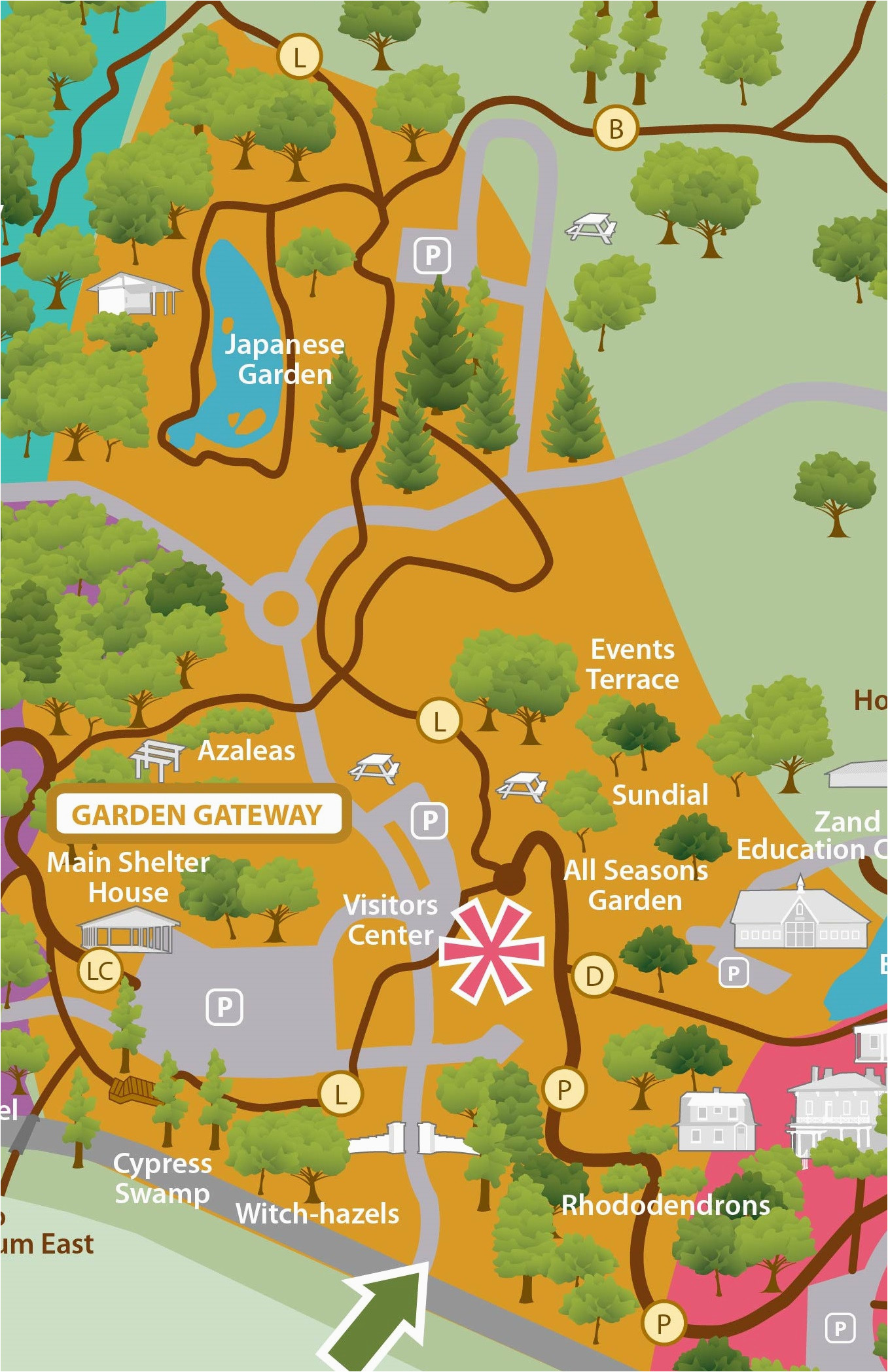 maps of our grounds the dawes arboretum in newark ohio