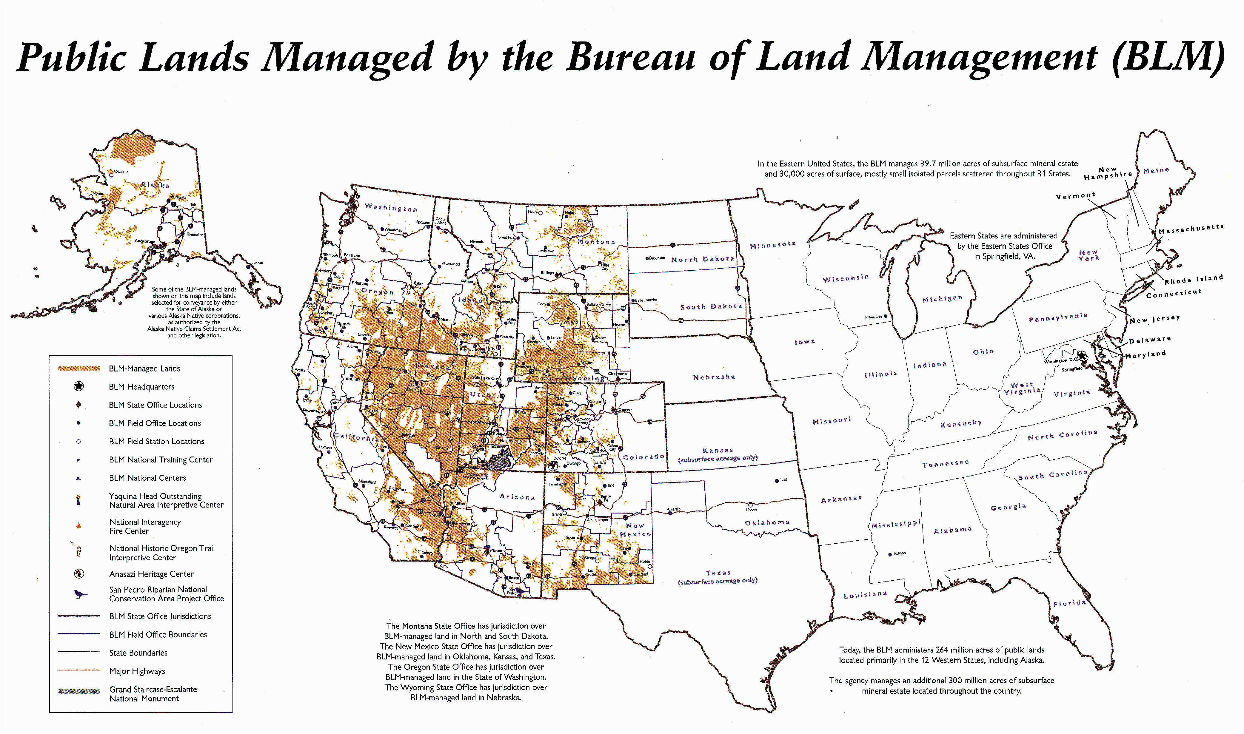 states map with cities blm land map states map with cities