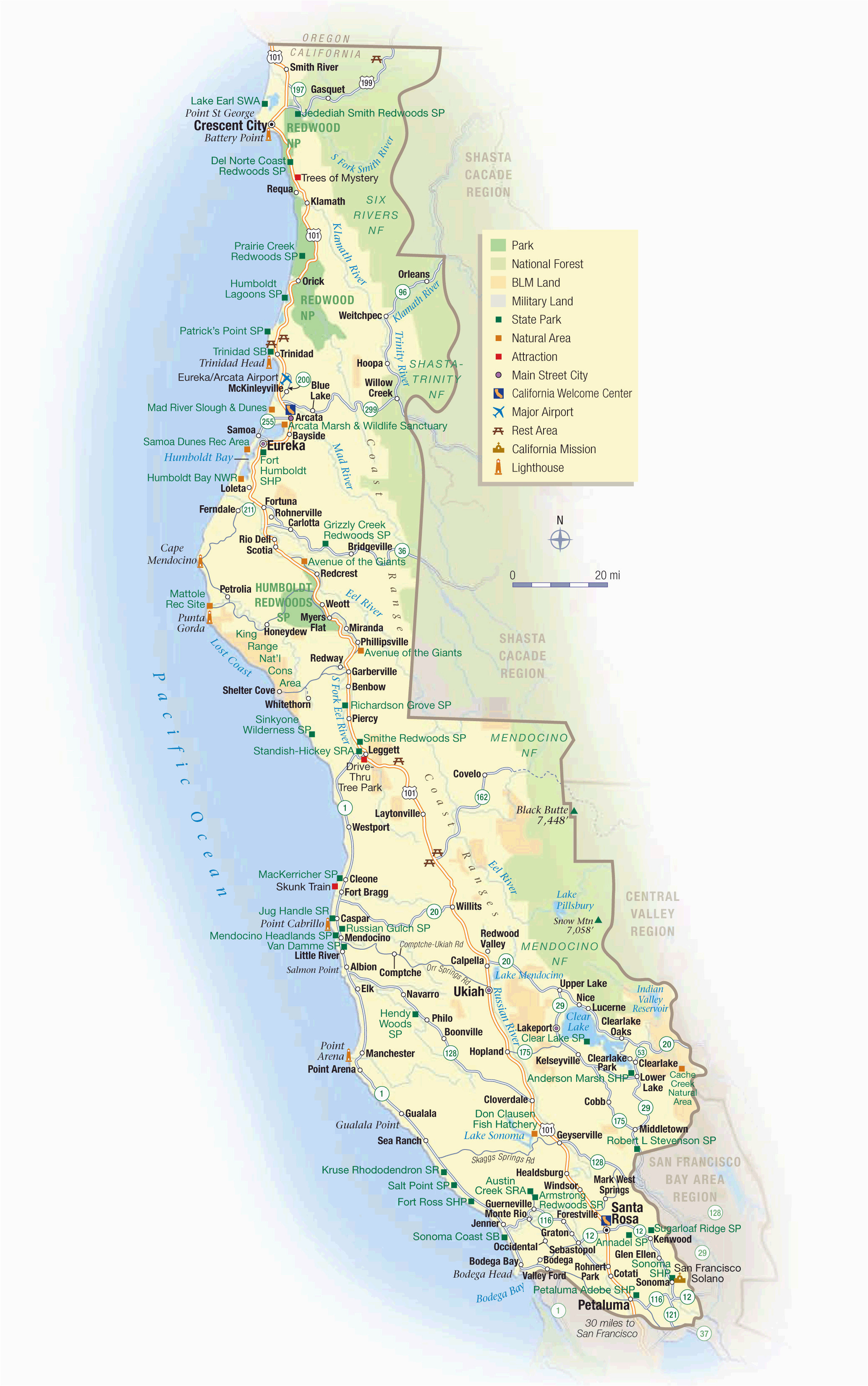 map of california and oregon coast printable maps map oregon and