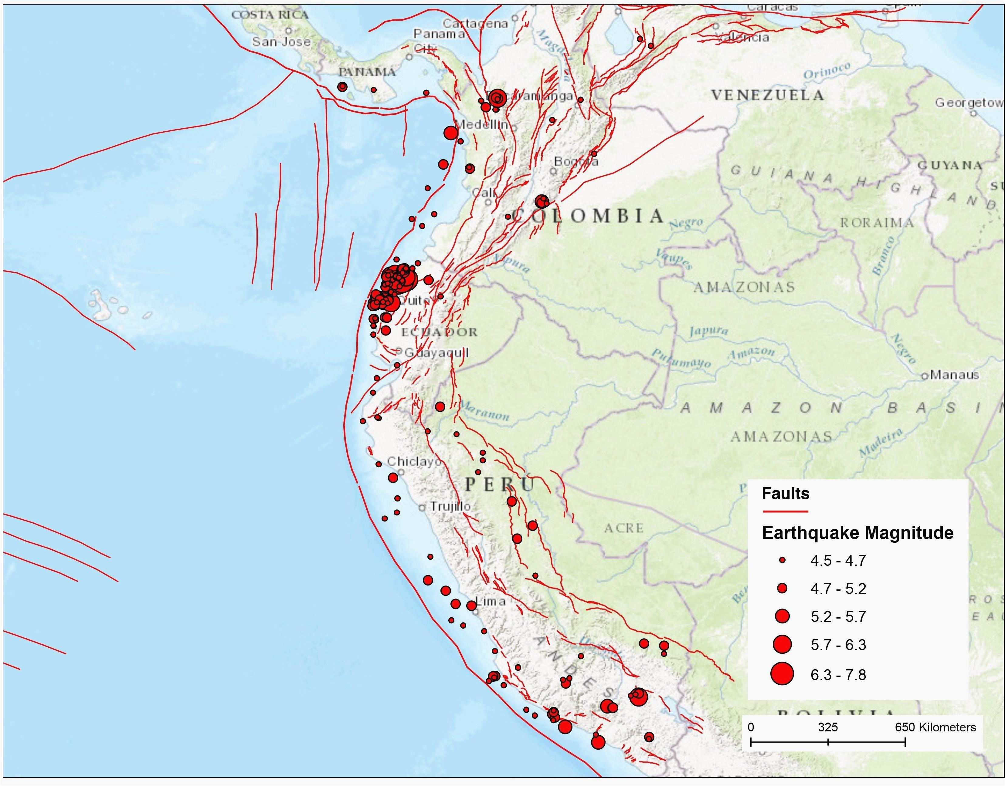 Oregon Fault Line Map southern California Fault Lines Map ...