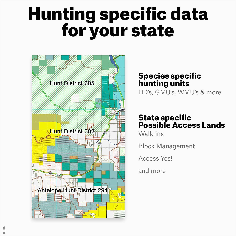 amazon com oregon hunting maps onx hunt chip for garmin gps