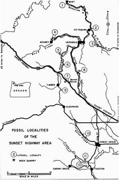 Oregon Rockhounding Map | secretmuseum