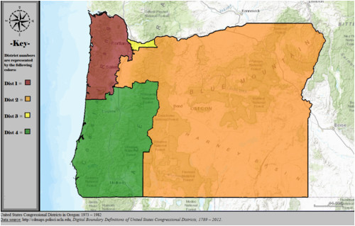 oregon s congressional districts revolvy