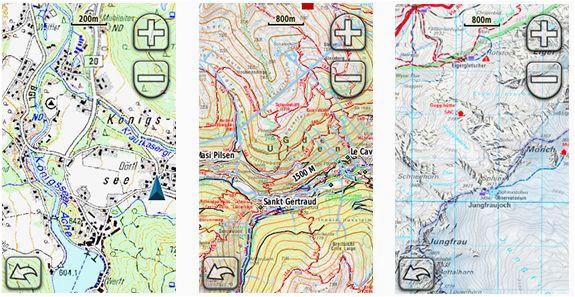 topo maps europe casami