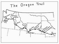 photograph about Oregon Trail Map Printable referred to as Oregon Path Map Worksheet secretmuseum