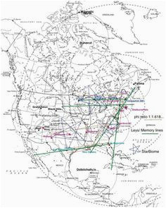 map of oregon laylines ley lines pacific northwest these are my